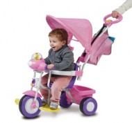 Triciclo Baby Plus rosa