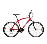 Bicicletta Stradale Touring Sport rossa